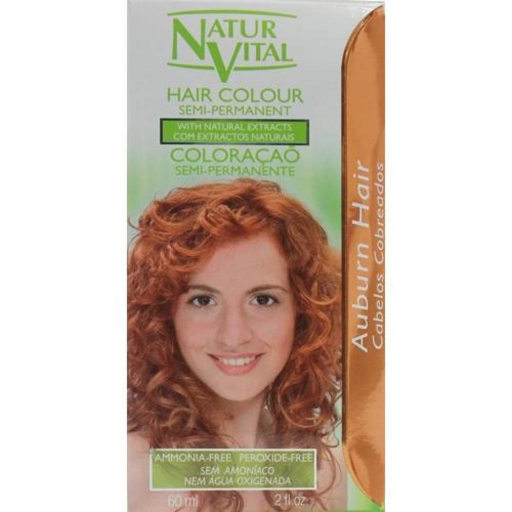 Semi Permanent Hair Colour Auburn Naturvital Australia