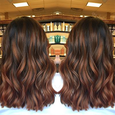 hair colour brown