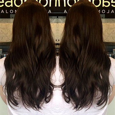 hair colour chocolate