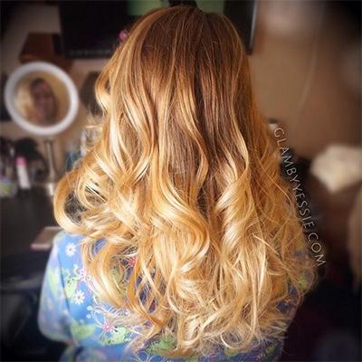 hair colour blonde