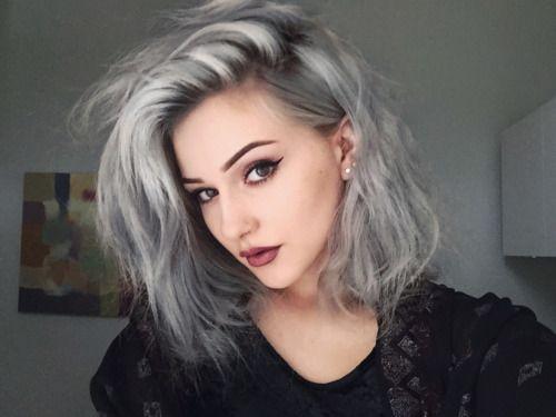 hair colour silver