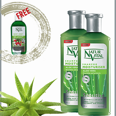 Buy 2 Shampoo Moisturisers - get FREE Goji Body Wash