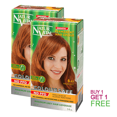 Chestnut Hair Dye - Buy 1 Get 1 Free