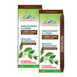 Chocolate semi-permanent hair colour - buy 1, get 1 free