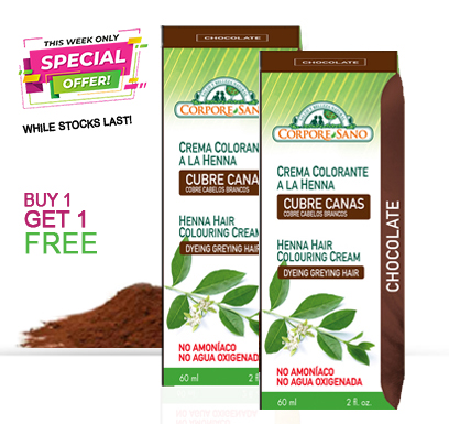 Chocolate semi-permanent - buy 1 get 1 free