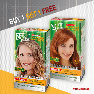 Permanent Hair Dye - Buy 1 Get 1 for FREE
