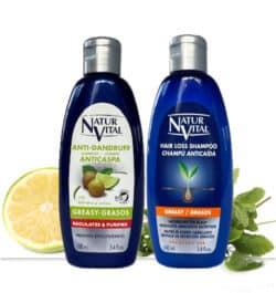 mini anti-Greasy shampoo and mini hair loss shampoo